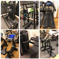 großes komplette Gym Geräte paket  - Technogym Excite BLACK LINE Cardio & Selection Strength