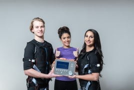 The new MaxSpeed EMS device + electrodes
