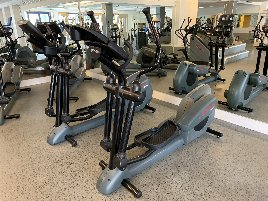 Life Fitness HR9500 Crosstrainer (3 pieces)