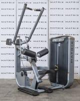 Matrix Fitness | 2012 Ultra Serie Latzug, divergierend (G7-S33) | Iced Silver