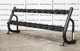 Matrix Fitness - Magnum Serie | 2-Ebenen Hantelablage (MG-A696), schwarz | 2016