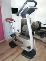 Technogym Testbike with Laptop