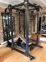 Hammer Strenght Power Rack Matt Schwarz