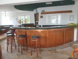 Counter wood/granite for gastronomy or registration