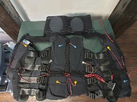 Used Miha vests in all sizes and good condition!