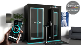 LifeCube® - elektrische Kältekammer | Individuell | Sicher | Made in Germany