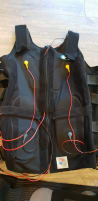 Miha Bodytec waistcoat incl. cable harnesses and seat belts