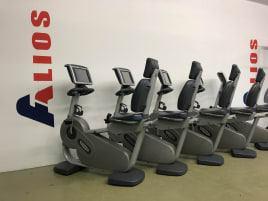 Technogym Recline Recumbent Excite EXC 700IP TV TGS 2 Touchscreen Ergometer recumbent ergometer bicycle DELIVERY possible!