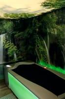 medi-Lounge Erlebniswelt mit der Wasser-Massage-Liege medi stream® spa