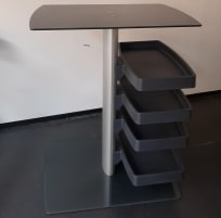 MIHA BODYTEC WORKING STATION (table) from miha with shelves