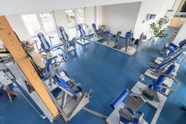 HUR Fitness line, 12 Machines/18 Direktions ( without airpump )
