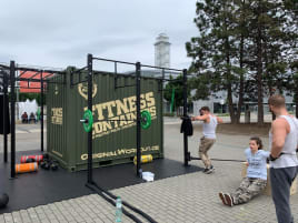 Fitness Military Container