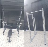 "NPG ""Squat Frame - Powerrack"" OR ""Smith Machine incl. Bench FREE"" **NEW**"