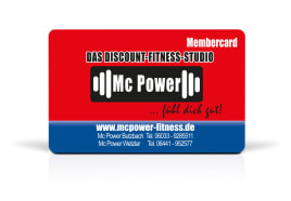 Membership cards and RFID chip cards of all kinds