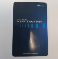TRANSPONDER CARDS MIHA BODYTEC II