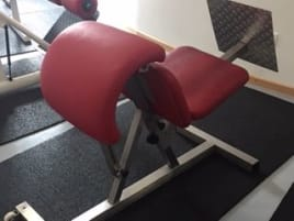 used hyperextension bench of the brand Dr. Wolff