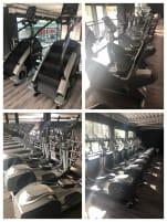 JNB Cardio Geräte (Laufbänder, Crosstrainer und Liegeräder) und 2 Stairmaster