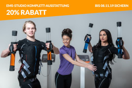 *20% DISCOUNT* LEASING RATE: 385 EUR plus VAT Studio equipment: EMS Training System. Wireless EMS Training (wireless EMS), Avatar
