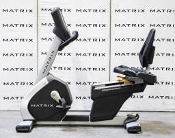 Matrix Fitness | R3x Recumbent Bike | Iced Silver | 2016