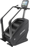 Komplett neue Life Fitness PowerMill Climber mit Discover SE3 HD Konsole