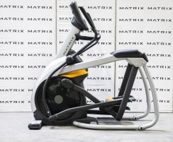 Matrix Fitness | A5x Ascent Trainer | Iced Silver | 2014