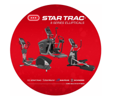 Star Trac 8 Series Ellipticals - DIRECTLY FROM MANUFACTURER!