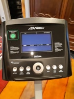 Life Fitness C1 ergometer with Go console