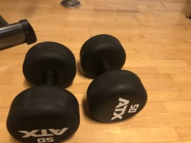 ATX Monster dumbbells 50 kg