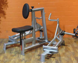 L K Bilateral E-Line Rowing Machine 047E - second-hand