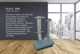 Vibrationsplatte PLATE ONE therapy Vorführsystem mit 2-Jahres Garantie