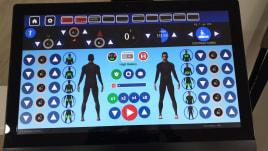 """Ich verkaufe eine i-Motion Maschine mit 24 """"Bildschirm"""
