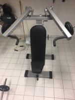 Gerva Sports Plate Loaded Schultermaschine