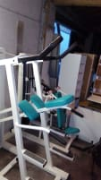 Pull-up and dip machine (seated)