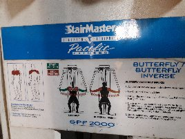 Stairmaster Butterfly Butterfly inverse SPF2000