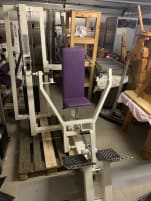 gym80 breast press bench press machine
