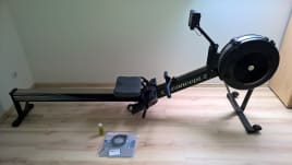 Rower Concept 2 Indoor Rower Model D (PM3) black incl. original accessories