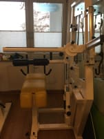Used back trainer / abdominal trainer
