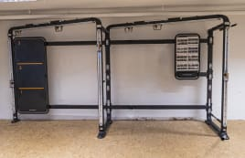 Matrix Fitness - Connexus Wall module and accessories trolley from studio resolution