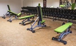 Matrix Fitness - Magnum Series   7x Multi-Adjustable Benches from Studio Resolution