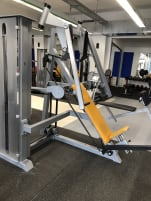 Used breast press of the brand gym80