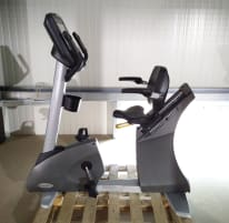 Matrix H5x Hybrid Bike Ergometer, Cycle with backrest, New model, second-hand - reconditioned condition