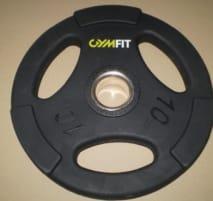 Fitnessstudio Gummierte Profi GymFit 50mm Gewichtscheiben SET 2,5KG bis 20KG NEU,  Profi PROSPORT Kurzhanteln Set von 2,5 bis 60KG, Lady Kurs Hantel Sets, alles NEU, TOP PREIS