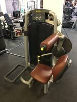 "Technogym ""Lower Back"" strength machine, back muscles"