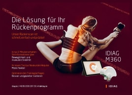 IDIAG M360 – precise, radiation-free back scan - Fall Special