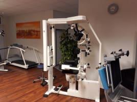 Gebrauchte Trainingsgeräte der Marken mkb/Kaphingst/Physio+Sport