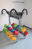 Oliver Prime Pumpsets mit Rollständer, Langhantel Set