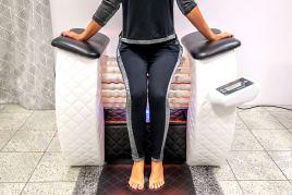 NEU Infrarot Rollenmassagegerät Rollenmassage mit Infrarot Massagegerät NEU Roll Massage Gerät