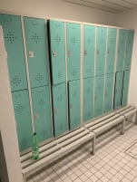 Locker for changing rooms 4, 6, 8 compartments