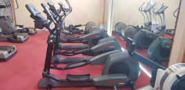 Life Fitness Crosstrainer 9500HR with hand pulse and Polar