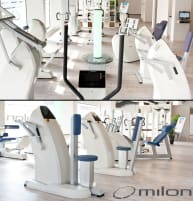 Milon Premium Kraft-Ausdauer Zirkel, Strenght Endurance Circle Circuit, incl. Legpress, Year 2013, used, good condition, refurbished